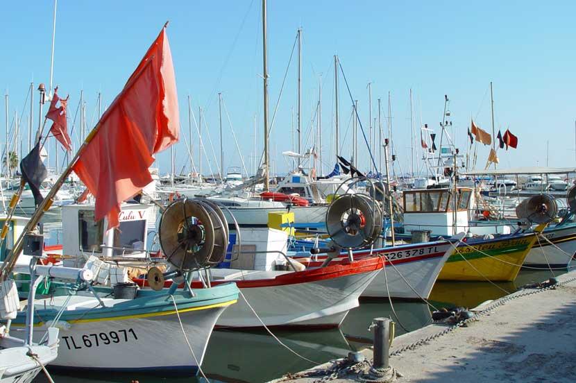 Tamaris plage pramousquier - Restaurant le lavandou port ...