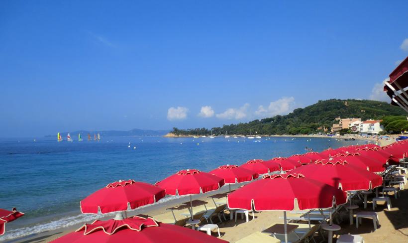 Cavaliere beach in Le Lavandou